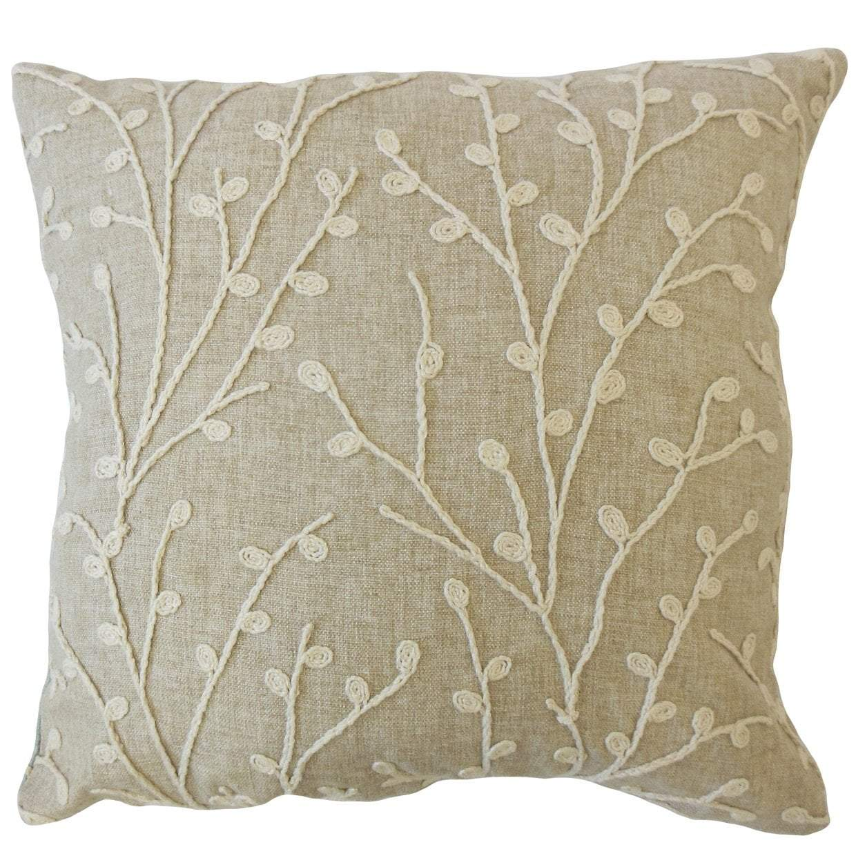 Brown Throw Pillow Cover