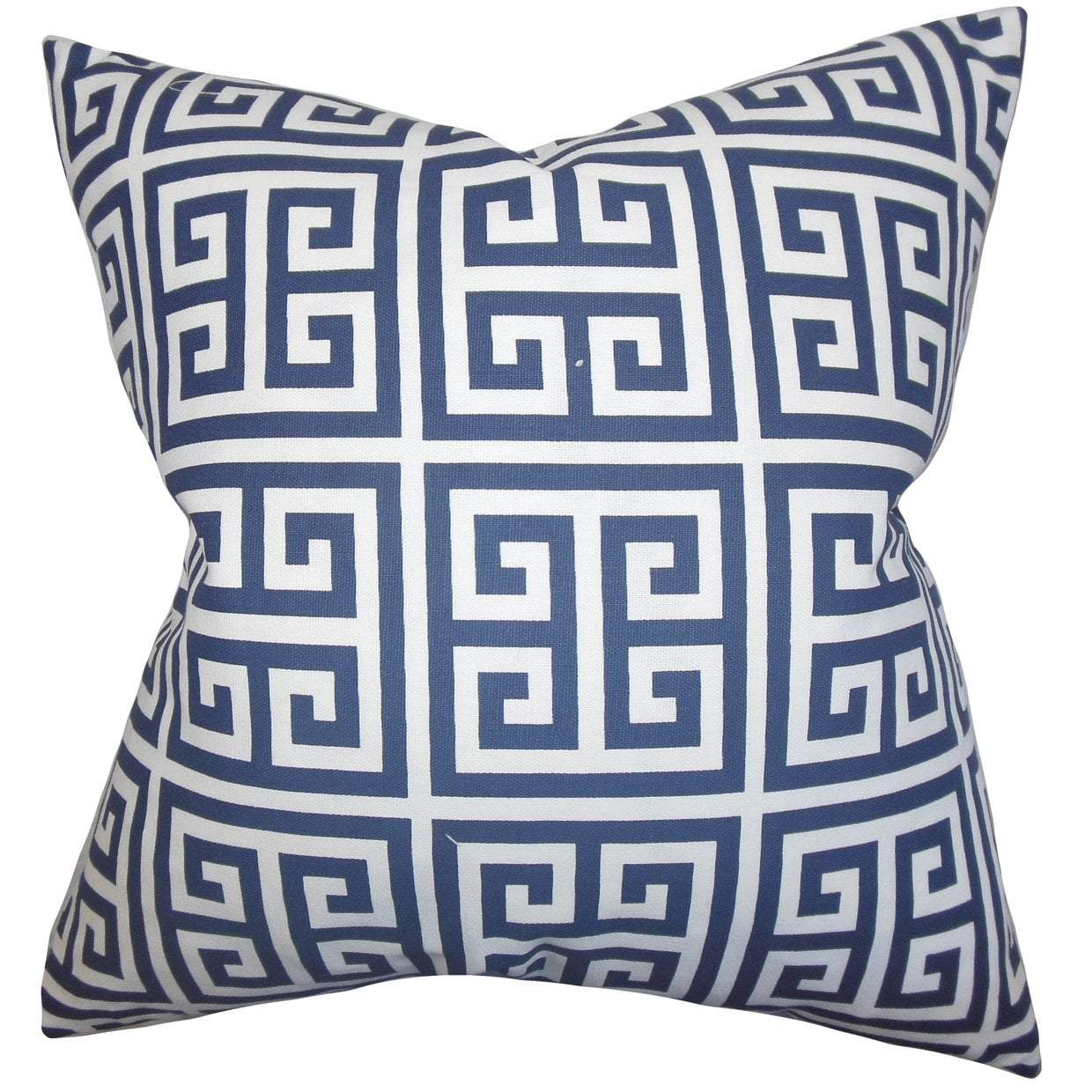 Channel Throw Pillow Cover