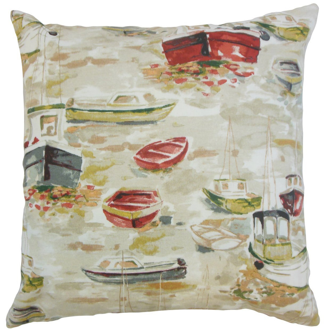 Cook Throw Pillow Cover