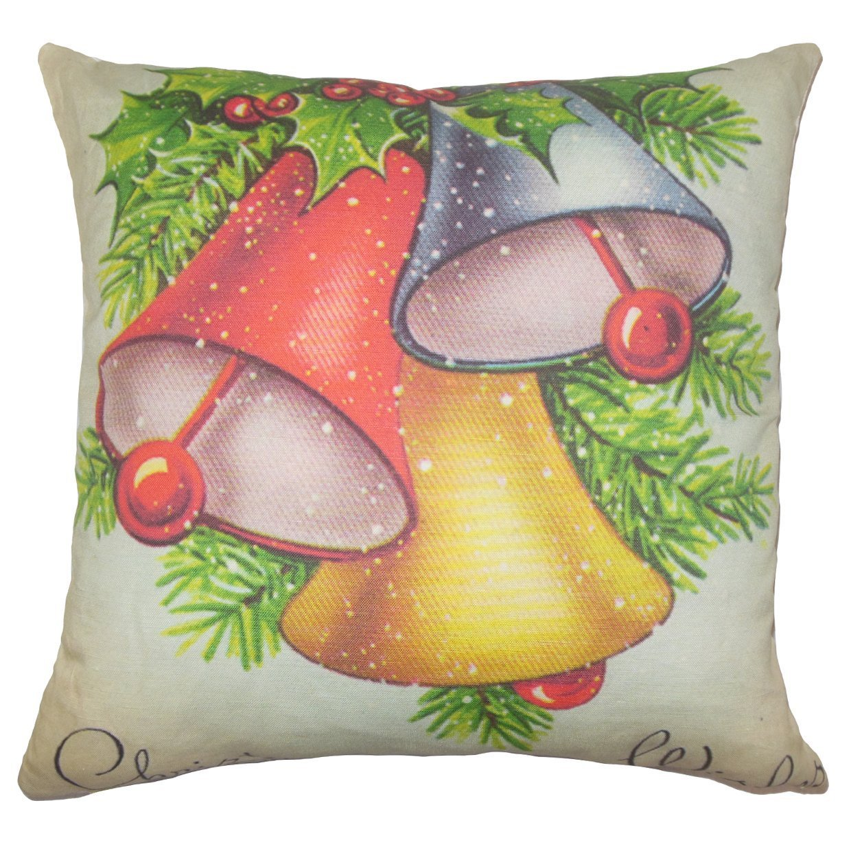 Hawkins Throw Pillow Cover
