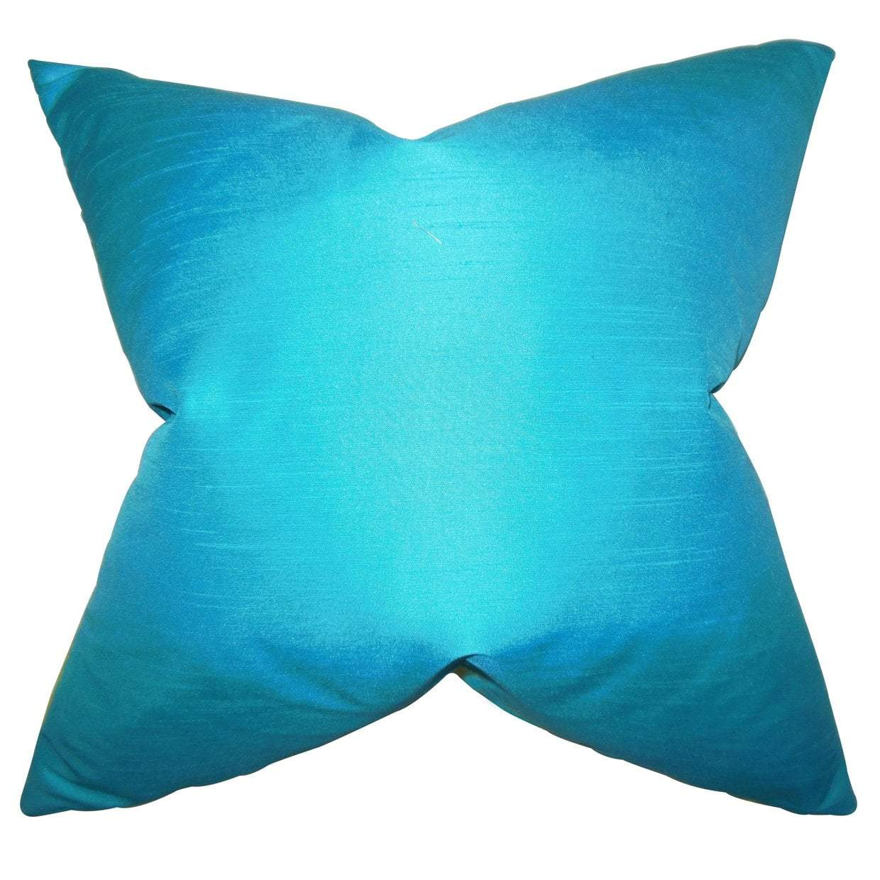 Synthetic Solid Luxe Throw Pillow Cover