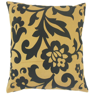 Horn Throw Pillow Cover
