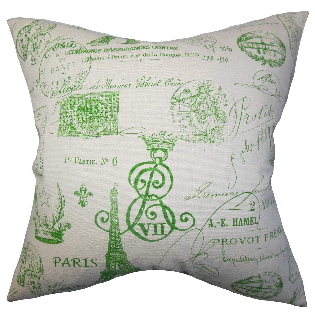 McKim Throw Pillow Cover