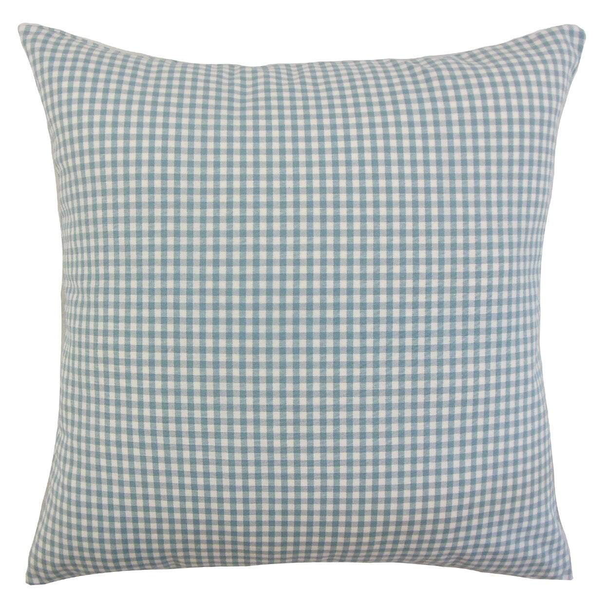Cotton Plaid Preppy Throw Pillow Cover