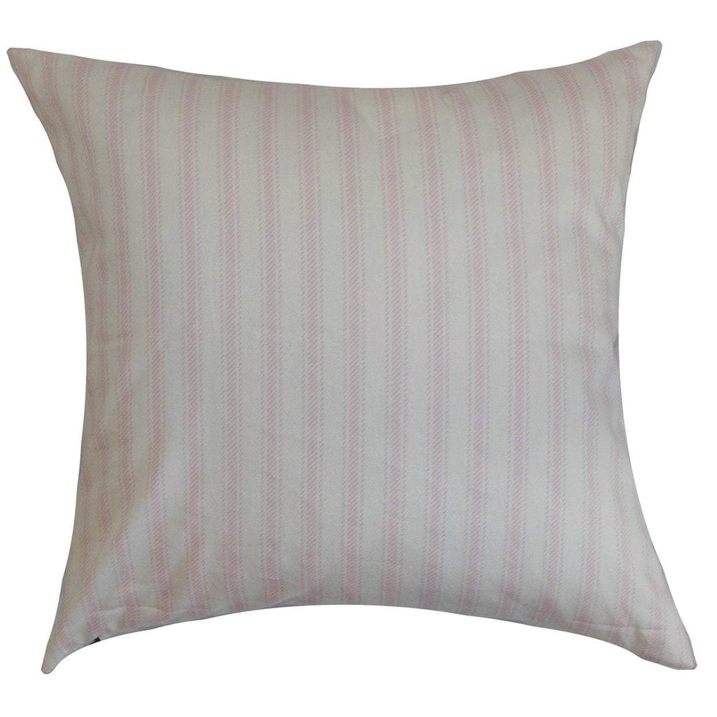 Cotton Striped Contemporary Throw Pillow Cover