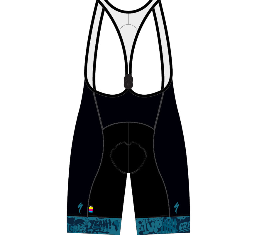 "City Scripts Bib Shorts Wmn ""New Hype"""
