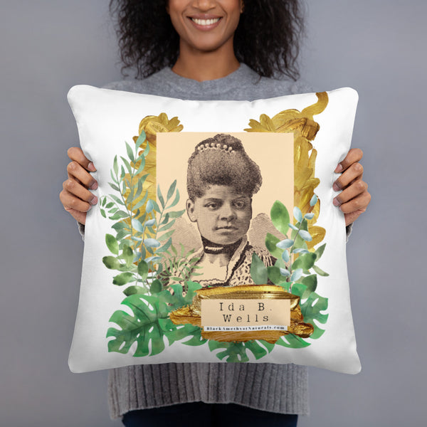 Cultural Legacy: Figures- Pillow (Ida B. Wells)