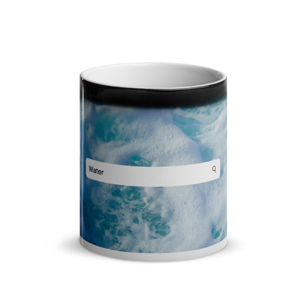 Elements- Water- Glossy Magic Mug (SeaFoam)