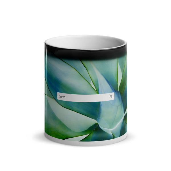 Elements- Earth- Glossy Magic Mug (agave)