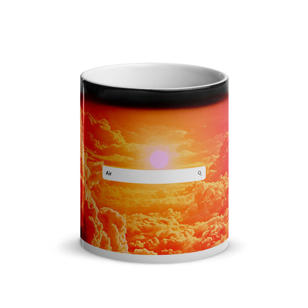 Elements- Air- Glossy Magic Mug (clouds)