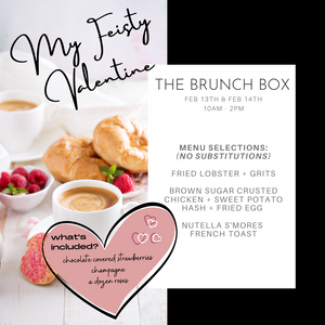 MY FEISTY VALENTINE BRUNCH BOX