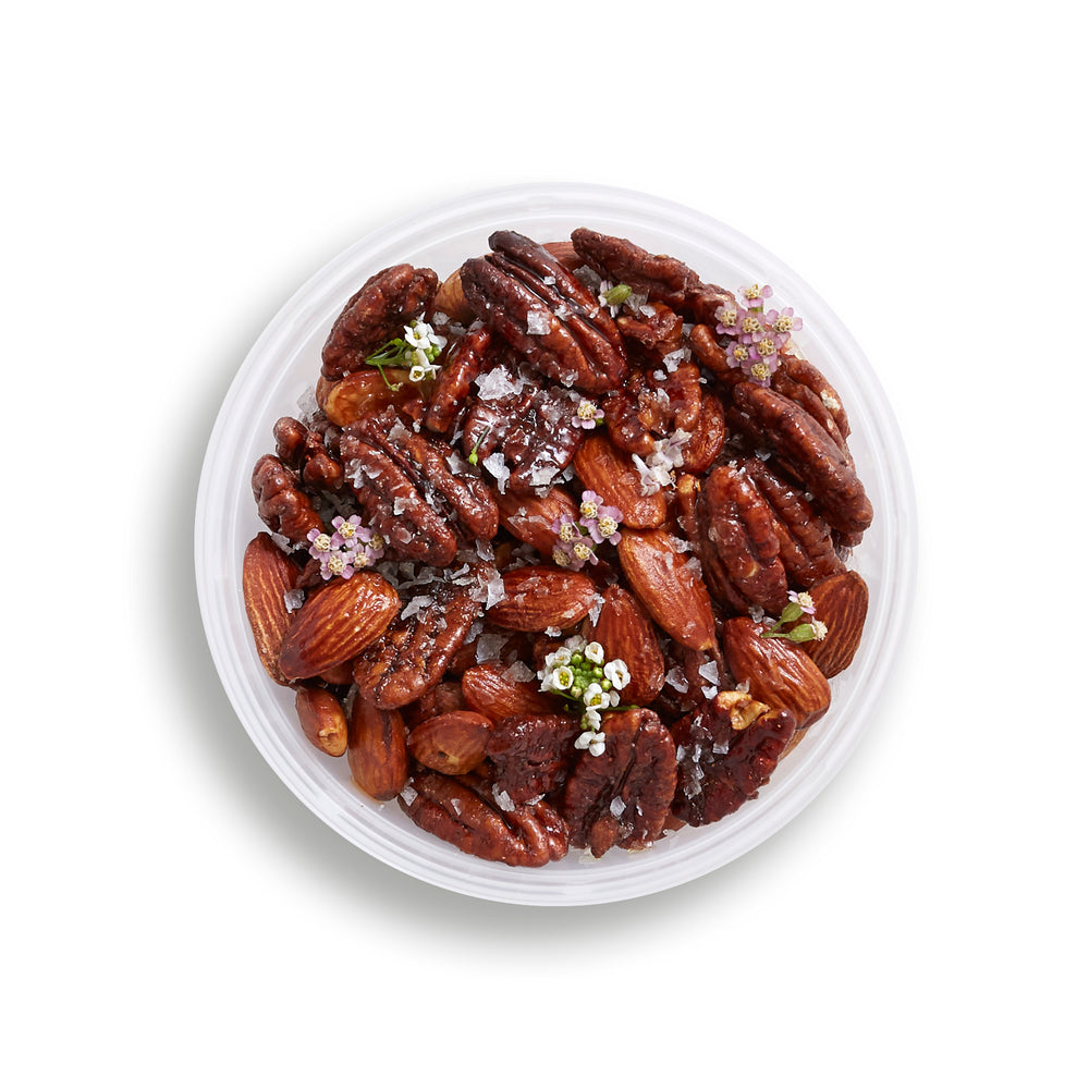 Sweet and Spicy Almonds, Pecans, & Walnuts (V, GF)
