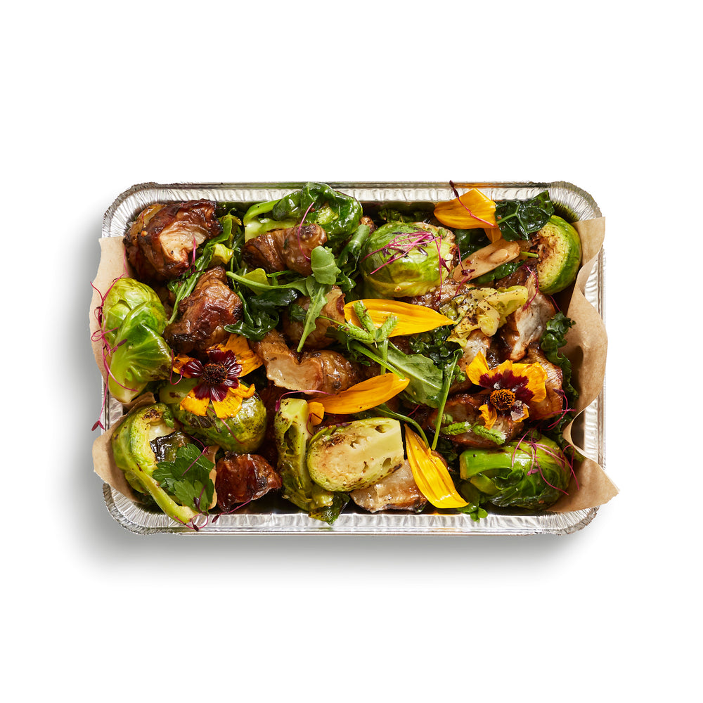 Whole Roasted Baby Brussels Sprouts (GF)