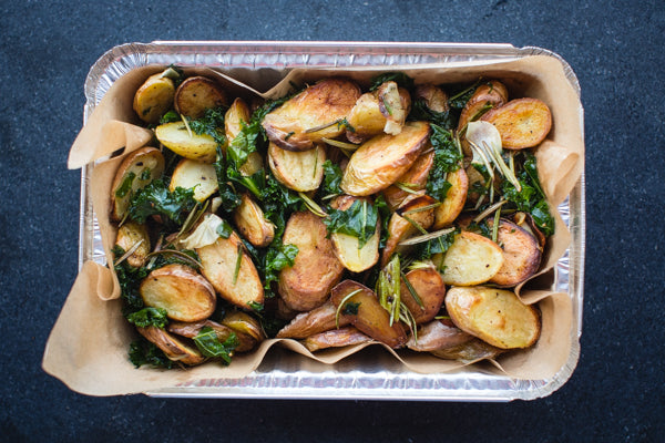 Holiday Roasted Weiser Farm Fingerling Potatoes (V, GF)