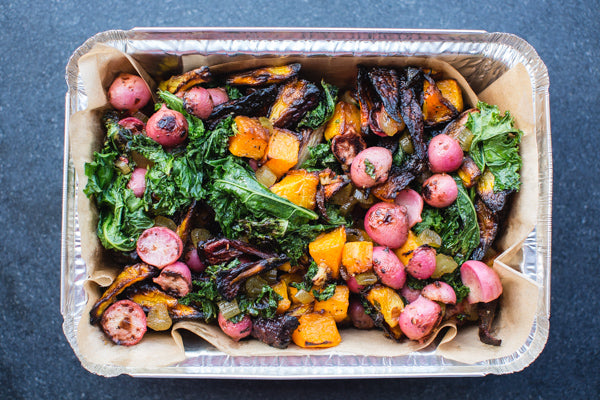 Holiday Winter Farmer's Market Vegetable Caponata (V, GF)