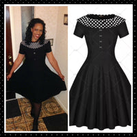 ✨Vintage Inspired Polka Dot Swing 👗 US Sizes 4 - 18