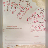 Uylee's Boutique Gift Certificates