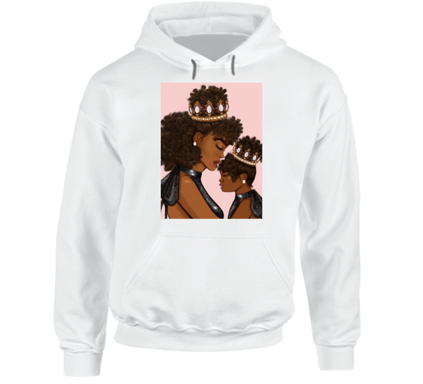 Nubian Queen and Princess Hoodie