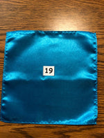 Men's Satin Pocket Squares - Various Colors Available