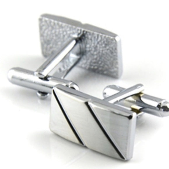 ✨Men's Silver Cuff Links