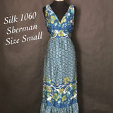 ✨1060 Sherman Brand Silk Dress, Size Small