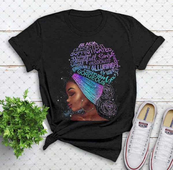 Gorgeous Lady Ladies T Shirt