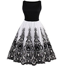 Women's Vintage Inspired Sleeveless Lace Cocktail Dress, Sizes US 8 - 24 Plus