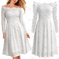 Vintage Inspired Full Lace Cocktail Dress, US Sizes 4 - 16