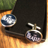 The Beatles Round Novelty Cuff Links