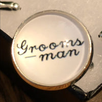Groomsman Cuff Links - Wedding Gift
