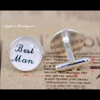 Best Man Cuff Links Wedding Gift for Wedding Party