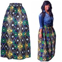 ✨Abstract African Print Skirts - Sizes Small to XLarge (US 6 - 12 / UK 8 - 14 / EU 34 - 40)