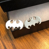 Silver Men's Batman Cufflinks