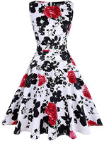 ✨Retro Inspired Floral Swing Dress, Sizes S - XL