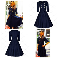 ✨Vintage Inspired Retro Fashion Dress, Sizes 4 - 16 👗