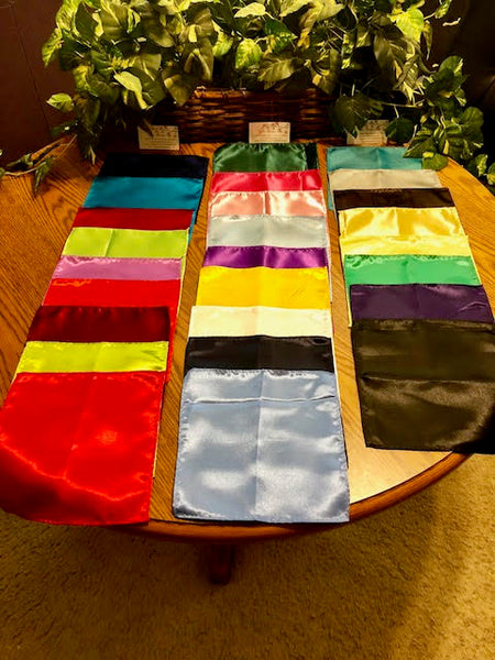 FREE ITEM Men's Satin Pocket Squares - Various Colors Available