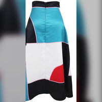 Women's Vintage Inspired A-Line Skirt, Sizes Small - Large