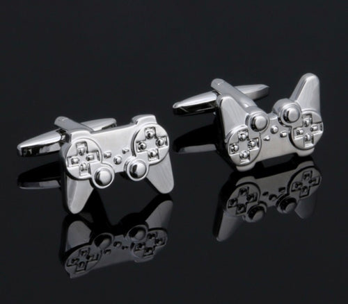 Stainless Steel Game Console Cuff Links