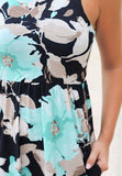 Floral Print Maxi Dress, Sizes Small - 3XLarge