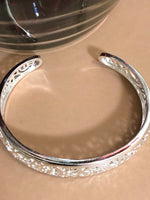 Silver Plated Cuff Bracelet