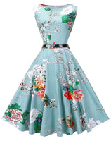 Vintage Inspired Swing Dress, Sizes Small - 4XLarge (US 4 - 26)