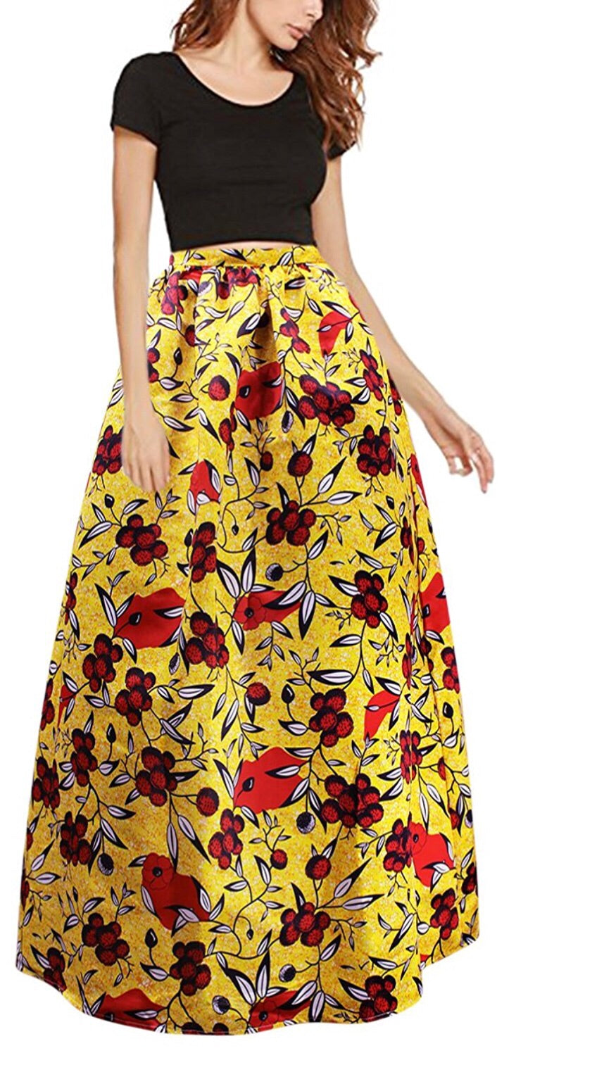 c9de5a356d7b17 High Waist African Print Skirts Images | Huston Fislar Photography