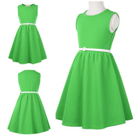 Retro Sleeveless Grace Karin Dress, Sizes 6 Years - 12 Years