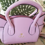 Women's Fashion Top Handle Cute Cat Cross Body Shoulder Bag - 4 Color Options