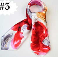 ✨Silk Look Satin Scarf, 20 x 20