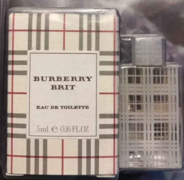 Burberry Brit Eau de Toilette for Women, 5ml (Mini)