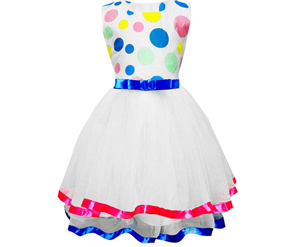 Little Girls' Polka Dot Tutu, 2 - 9 Years