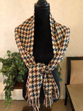 Cashmere Neck Scarves/Shawls & Coordinated Hat, 3 Choices