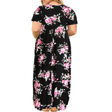 Casual Loose Plus Size Maxi Dress, Sizes 14Plus - 26Plus