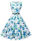 Retro Inspired Swing Swing Dress, Sizes Small - 4XLarge (US 4 - 26)